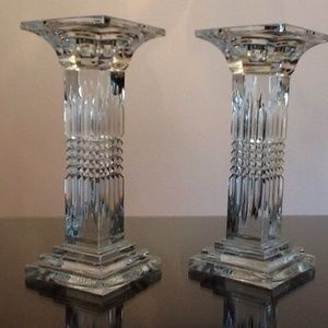 Two Candle Holders Shannon Crystal Designs Ireland